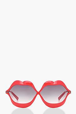 Red Kiss Novelty Sunglasses