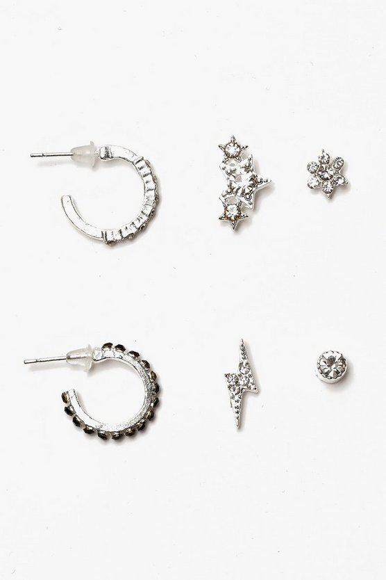 Cosmic Mixed Stud Earring Pack