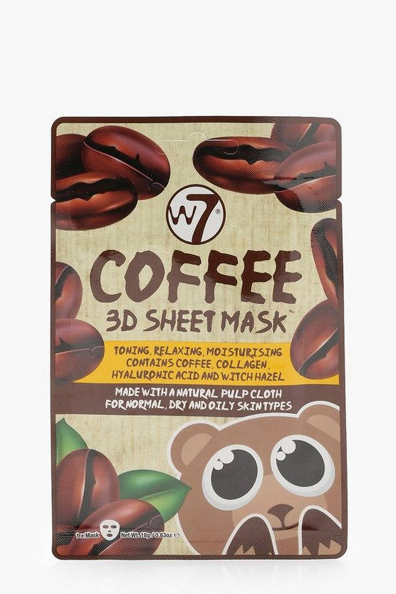 W7 Coffee 3D Face Mask