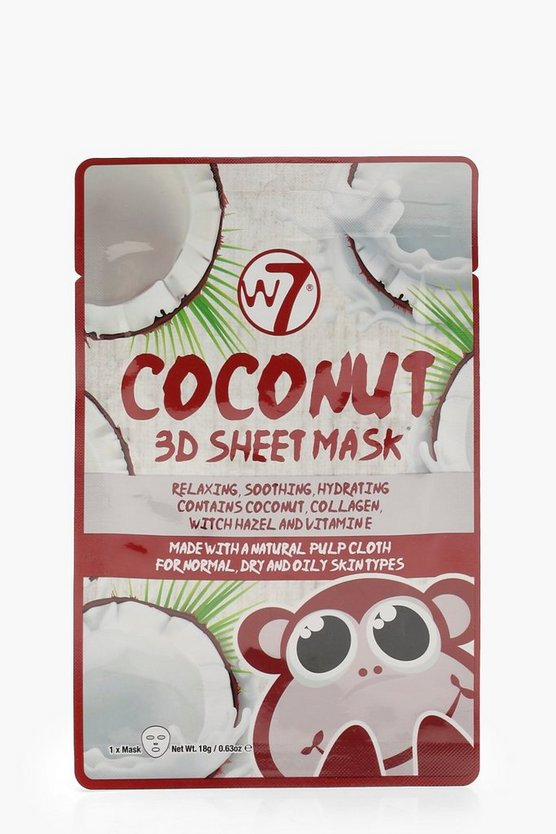 W7 Coconut Sheet Face Mask