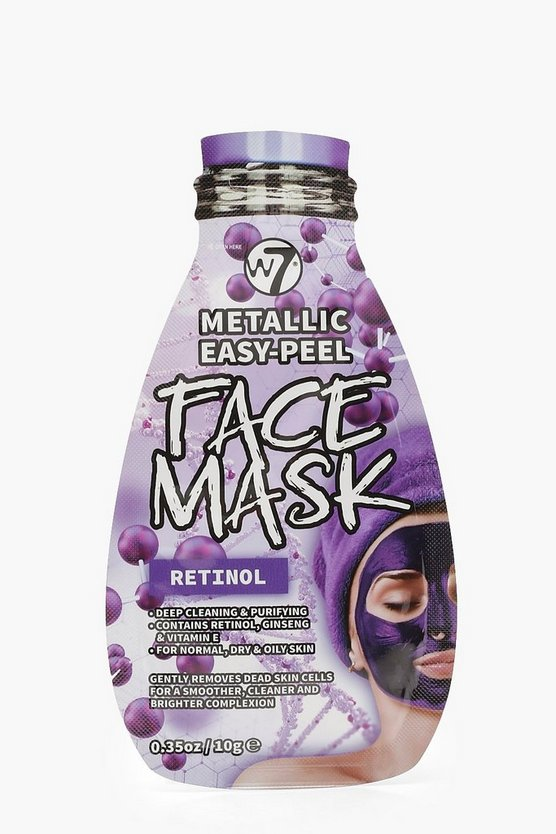 W7 Metallic Easy Peel Retinol Face Mask