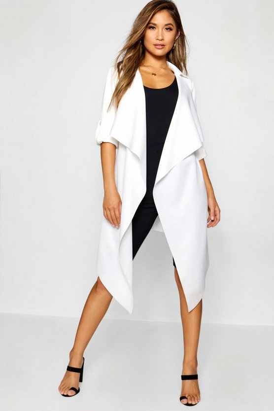Water Fall Duster Jacket