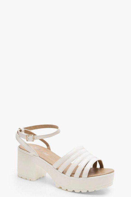 Sarah Caged Cleated Sandals