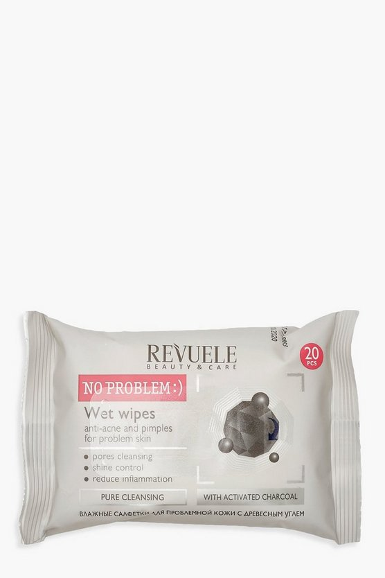 Charcoal No Problem Face Wipes