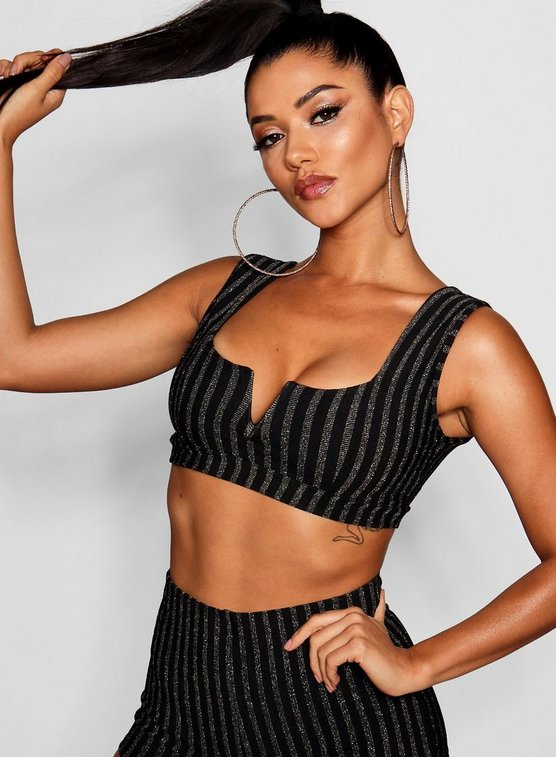 Nadia Square Neck Crop Top