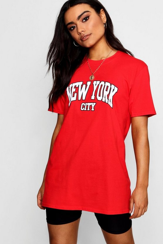 New York City Slogan Tee