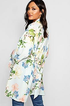 Aria Belted Floral Kimono