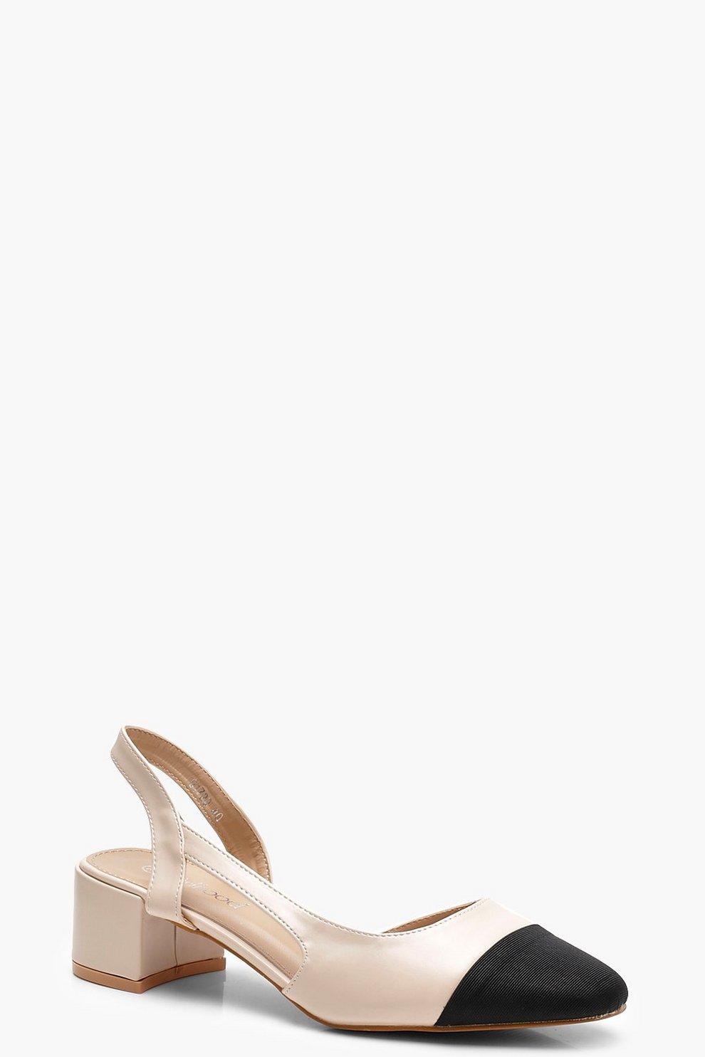 Sling Back Low Block Heel Ballets Mejor Precio Barato Vendedor Oficial De Salida Descuentos Venta En Línea Comprar El Mejor Barato 4mcS9HtJH