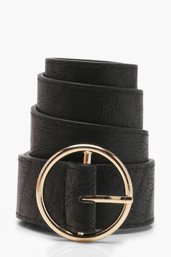 Rachel Ring Detail Boyfriend Belt