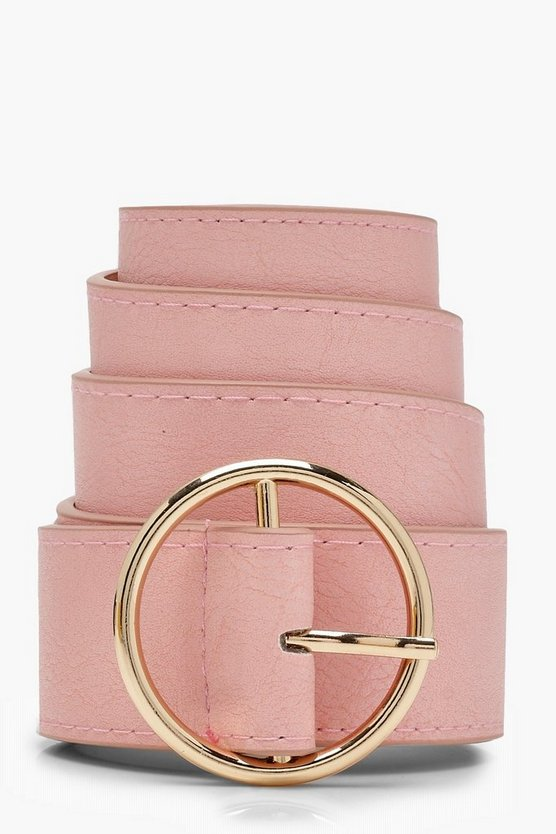 Ring Detail Boyfriend Belt