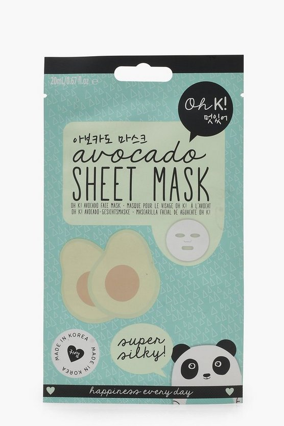 Oh K Avacado Face Sheet Mask