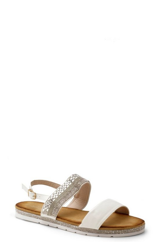 Julia Embellished Two Part Sandals