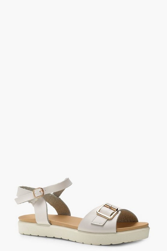 Emily Buckle Cleated Sandals