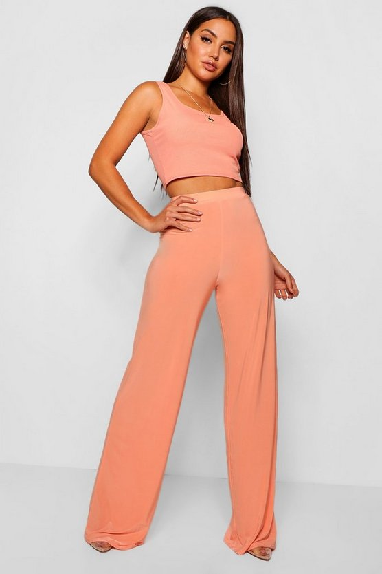 Elle Slinky Wide Leg Trousers