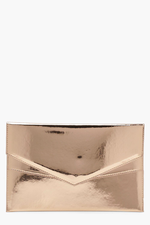 Купить Сумки, Двухслойный клатч-конверт Amy с голографической отделкой, boohoo
