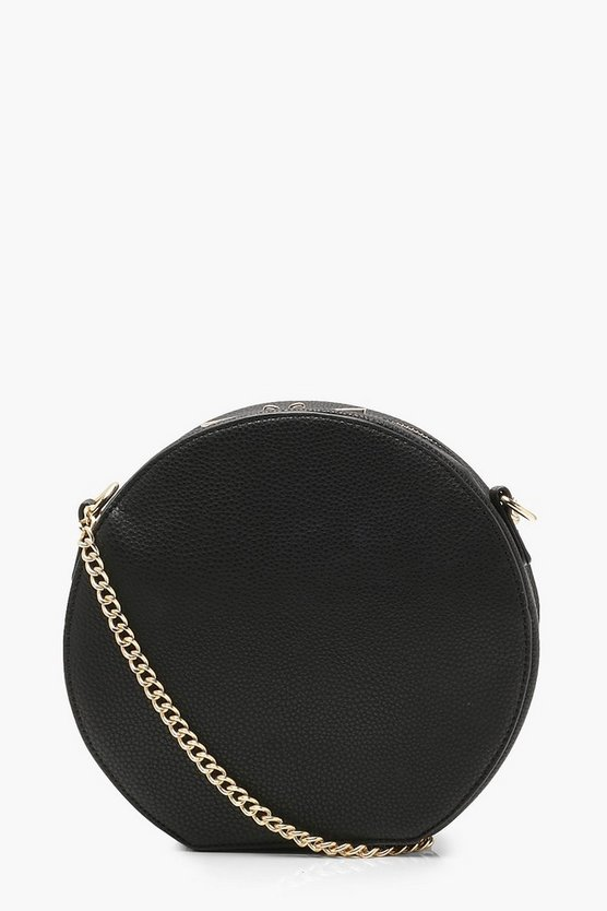 Erin Structured PU Round Bag
