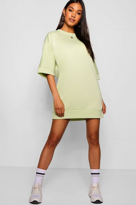 Oversized Loopback Sweat Dress