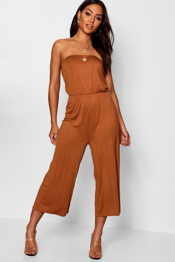 Bandeau Wide Leg Jumpsuit