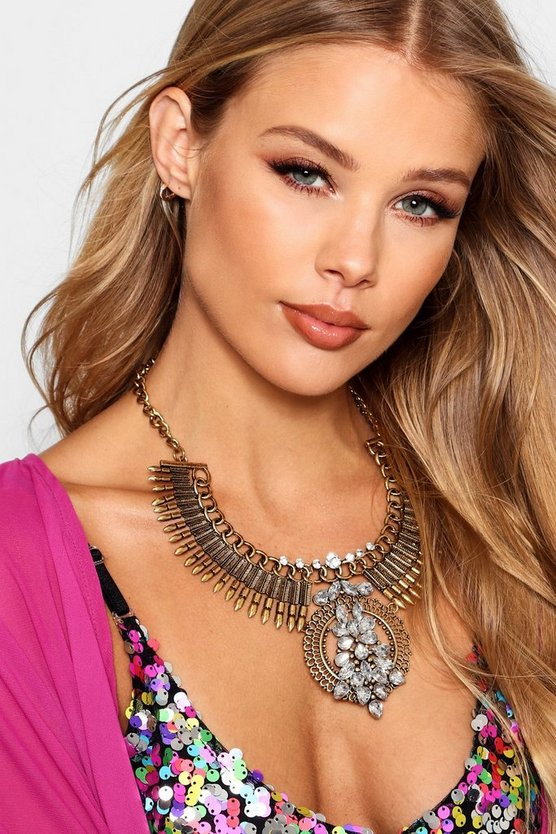 Statement Diamante Necklace