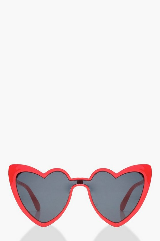 Heart Shape Cat Eye Sunglasses