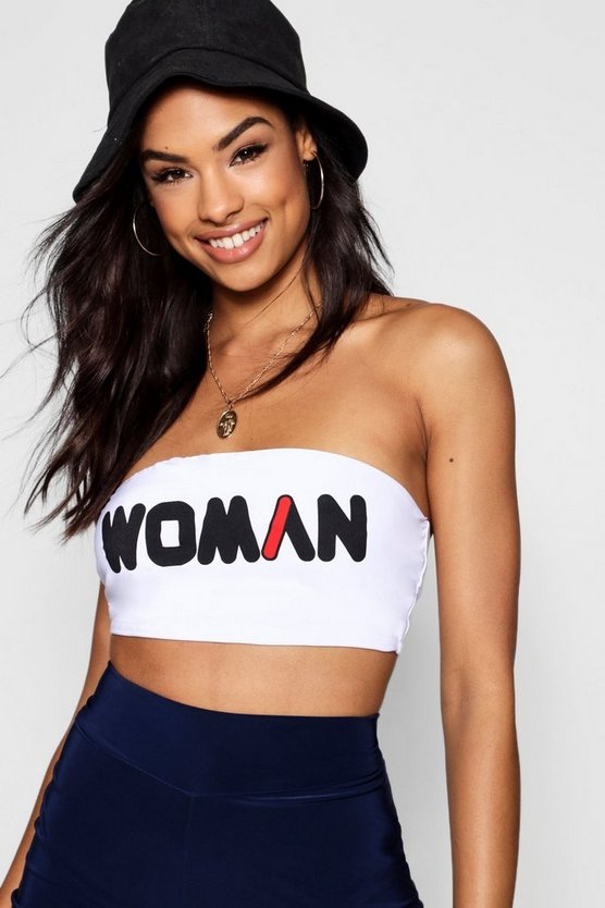 Woman Double Layer Bandeau