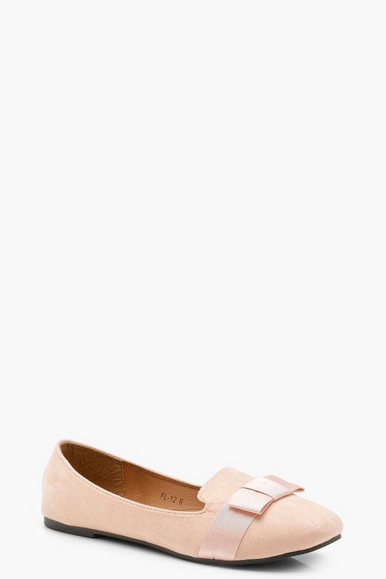 Zoe Bow Detail Slipper Ballets