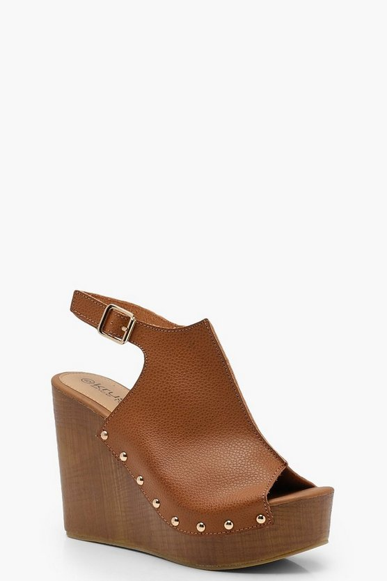 Mule Stud Wedges