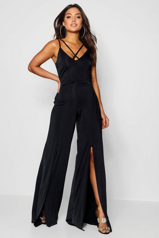 Monica Split Front Jumpsuit