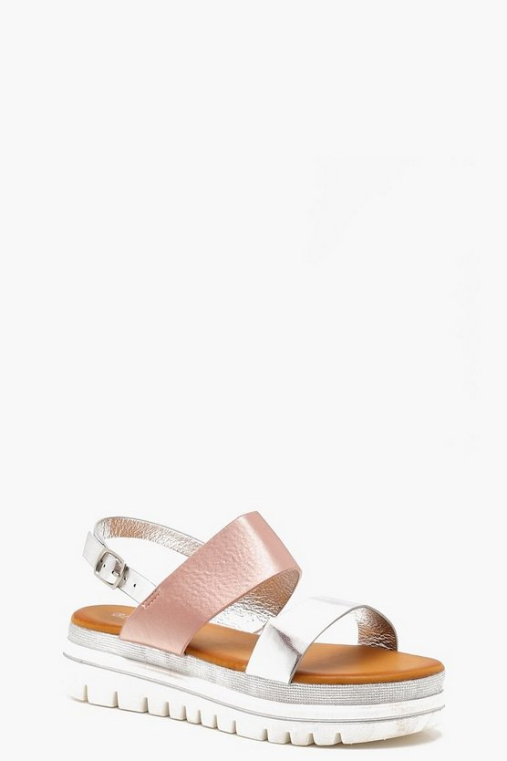 Summer Two Part Cleated Sandals