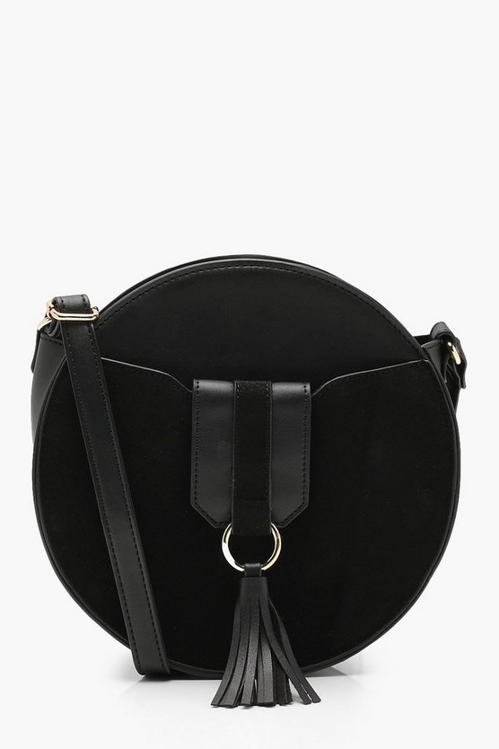 Kelly Ring & Tassel Round Cross Body