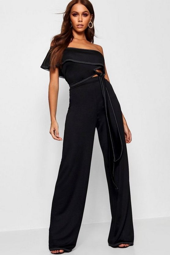 Contrast Stitch Co-Ord