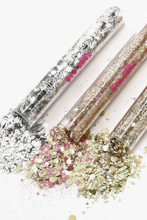 Biodegradable Metallic Glitter Tubes