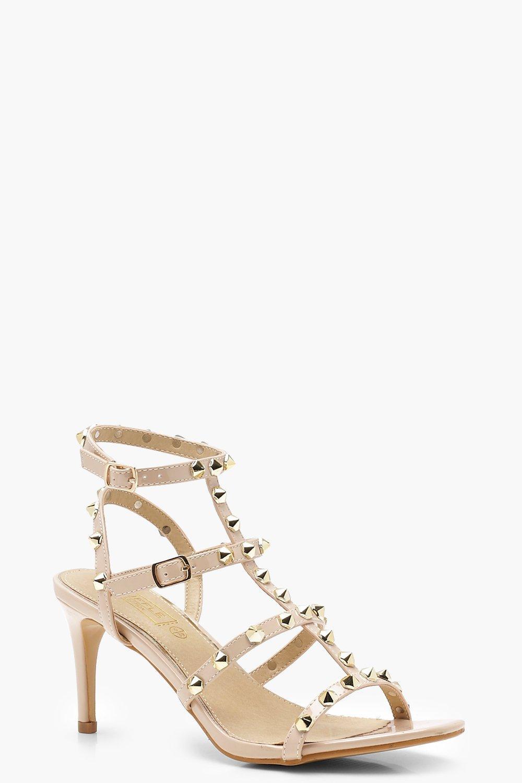 Купить Heels, Босоножки с шипами на каблуке, boohoo