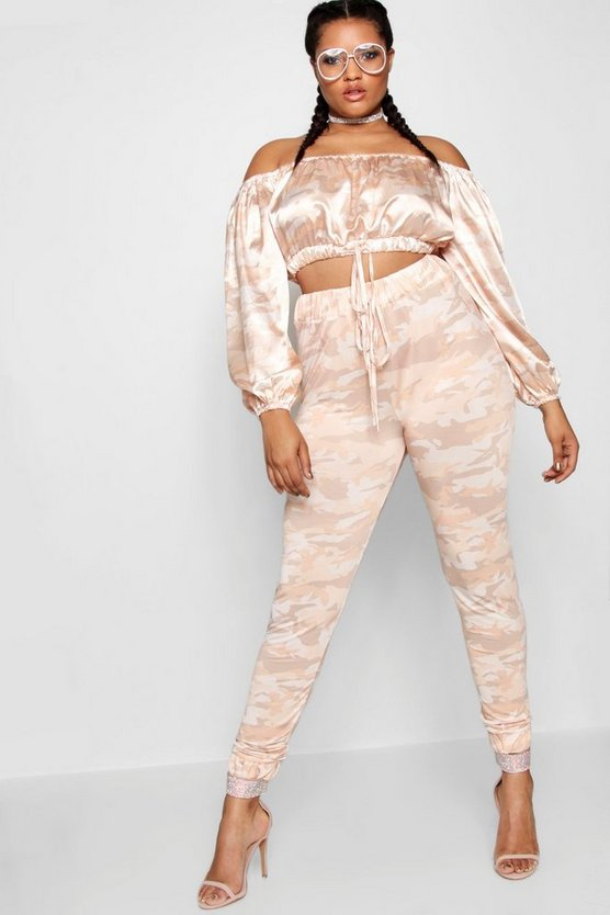 Stefflon Don Camo Jogger