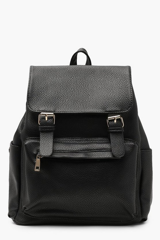 Ellie Double Buckle Rucksack