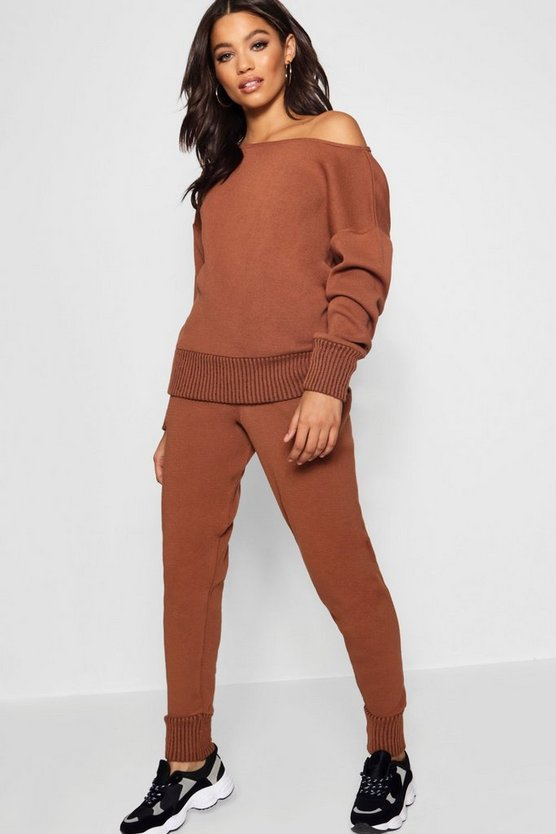 Faith Boutique Heavy Knitted Loungewear Set