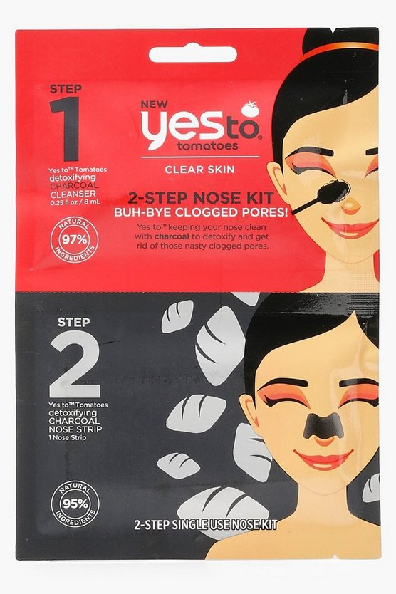 Yes To 2 Step Bye Blackheads Nose Kit