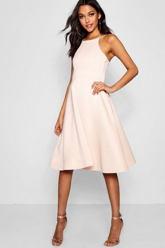 Eleanor Midi Skater Dress