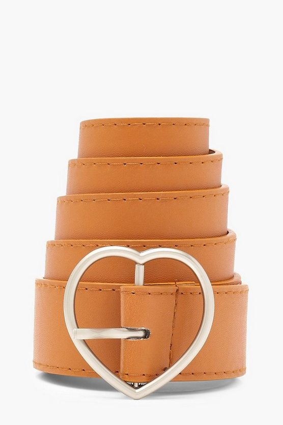 Harriet Heart Buckle Boyfriend Belt