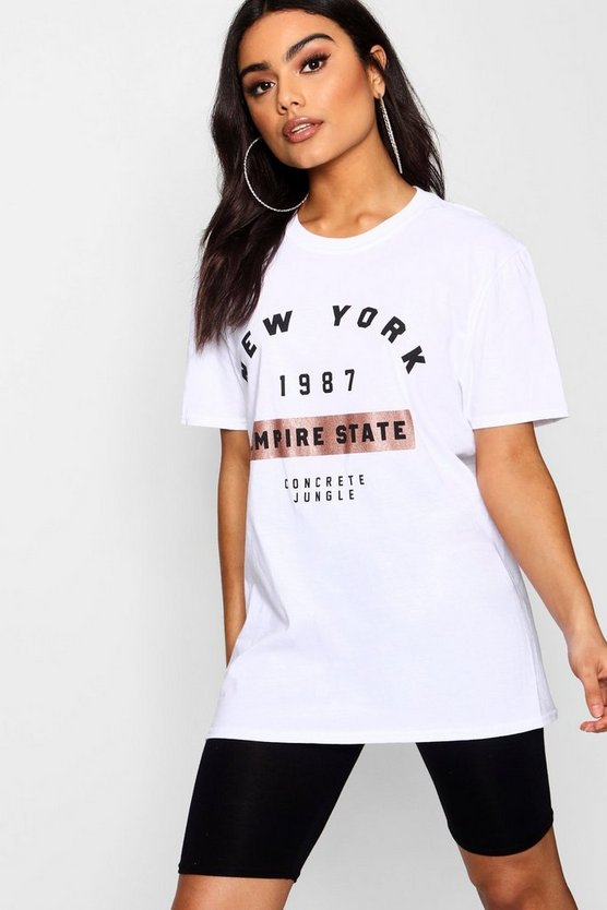 Ria New York 1987 Slogan Tee