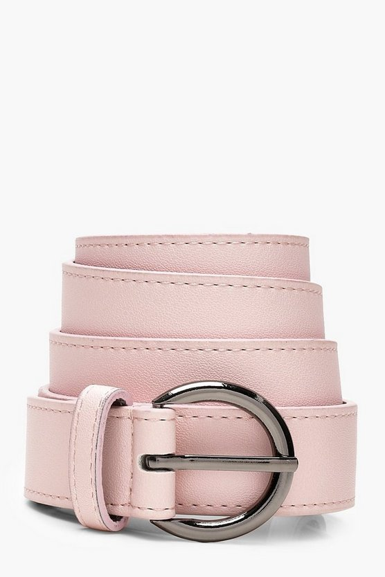 Julianna Circle Buckle Belt
