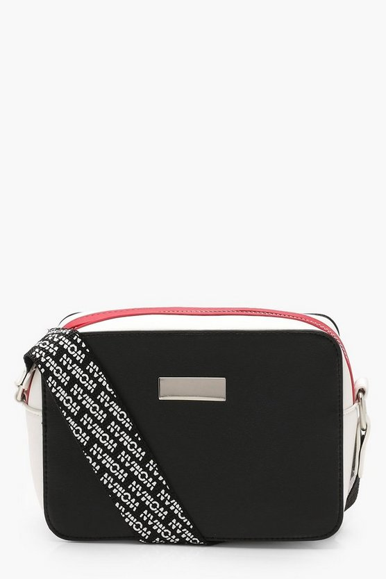 WOMAN Repeat Print Cross Body Bag