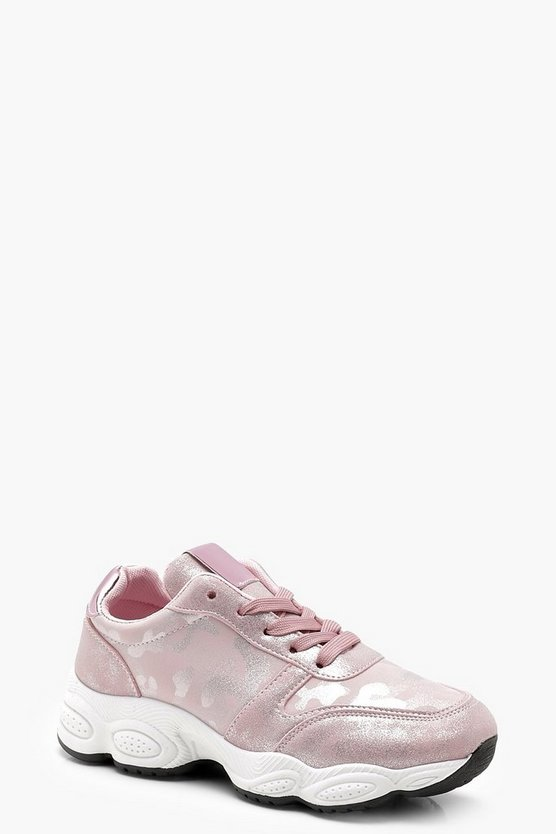 Zoe Camo Chunky Sports Trainer