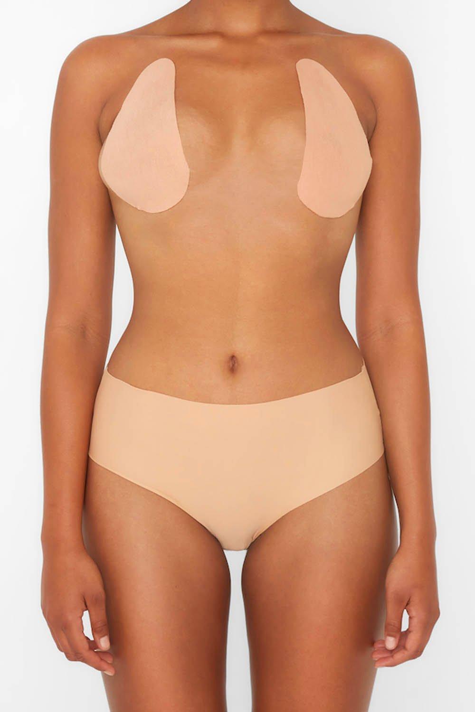 boohoo Womens Perky Pear Breast Lift & Shape Tape - Beige - A-B, Beige