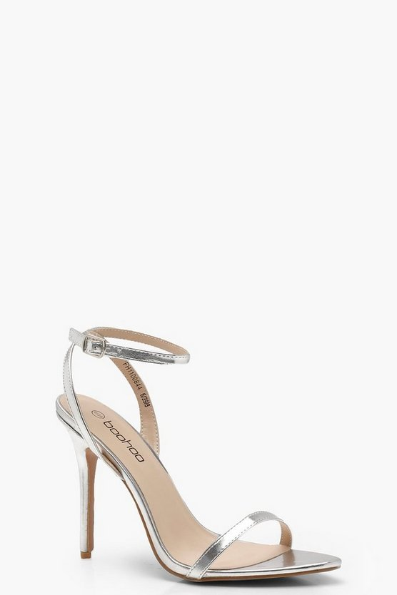 Bella Pointed Toe Barely There Heels