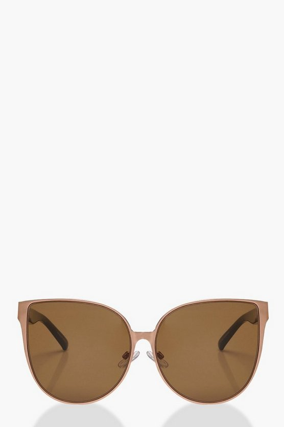 Ivy Oversized Retro Sunglasses