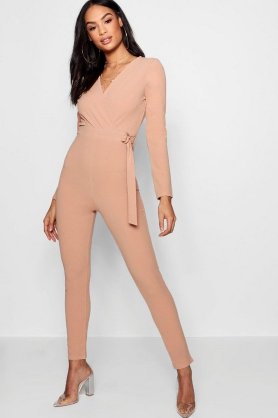 Luna D-Ring Wrap Jumpsuit