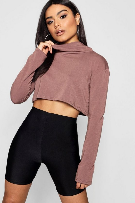 Abbie Slouchy Roll Neck Light Weight Sweater