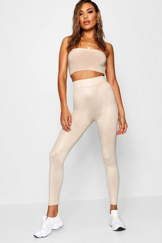 Disco Slinky High Waist Leggings