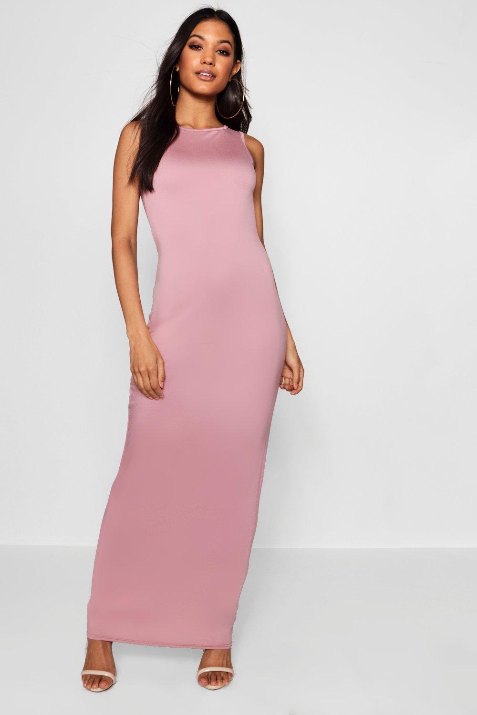 Купить Dresses, Front со спиной-борцовкой Макси-платье из джерси Basic, boohoo